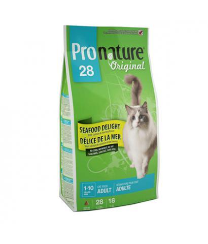 Pronature Original 28 Cat Adult Seafood Delight no Corn, no Wheat, no Soy