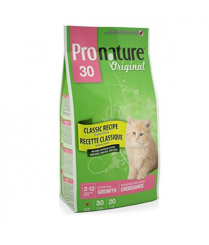 Pronature Original 30 Kitten Growth Chicken no Corn, no Wheat, no Soy