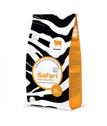 Корм Safari Adult Dog Midi with Lamb