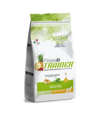 Корм Trainer Fitness 3 Vegetal Adult Medium & Maxi