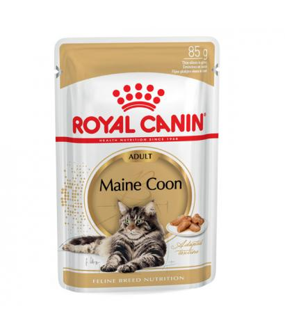 Корм для кошек Royal Canin Maine Coon Adult — Thin Slices in Gravy