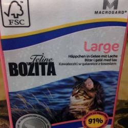 Bozita Feline Large — Chunks in Jelly with Salmon