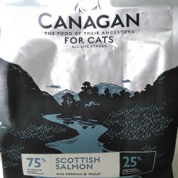 Canagan Cat Scottish Salmon With Herring & Trout Grain Free