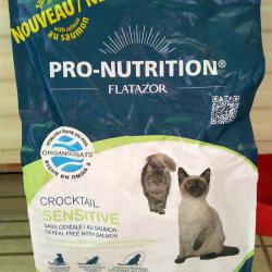 Фото корма Flatazor Pro-Nutrition Crocktail Adult Cat Sensitive Cereal Free Salmon
