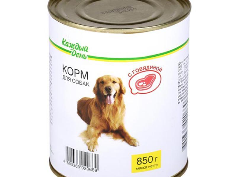 Живая сила корм для собак